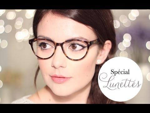 2 idées de maquillage quand on porte des lunettes