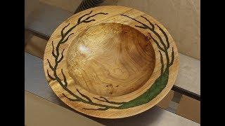 Woodturning - The Triffid Bowl