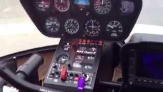 как взлететь на вертолете Robinson 44. Часть 2(через YouTube Объектив., 2014-08-07T11:17:34.000Z)