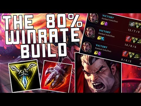 THE 80% WINRATE TriHard DARIUS | Build Guide | Gameplay Preview