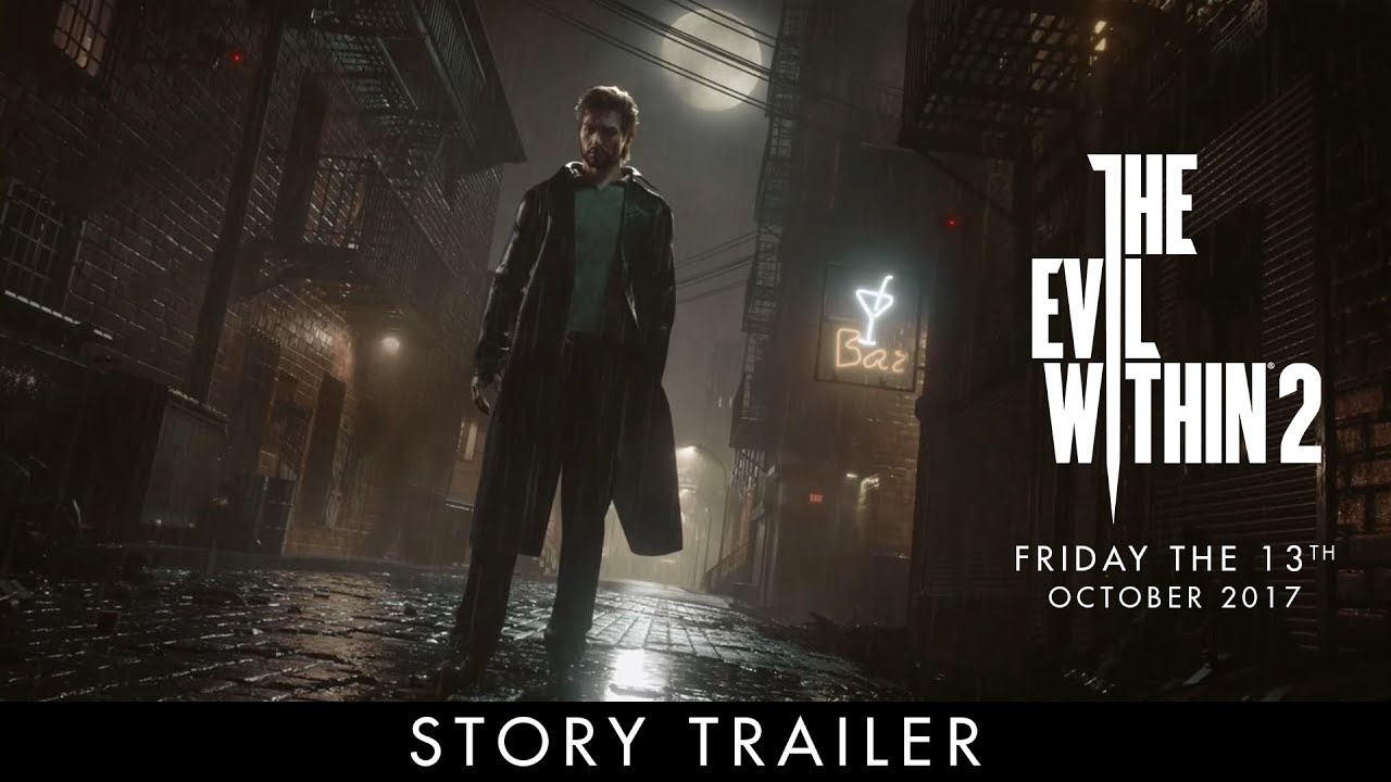 Wallpaper Theodore Harbinger The Evil Within 2 Hd: Official E3 Story Trailer