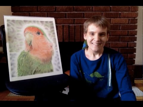 Autistic Artist Talks about Photorealistic Pencil Drawing - Remrov's World of Autism #3