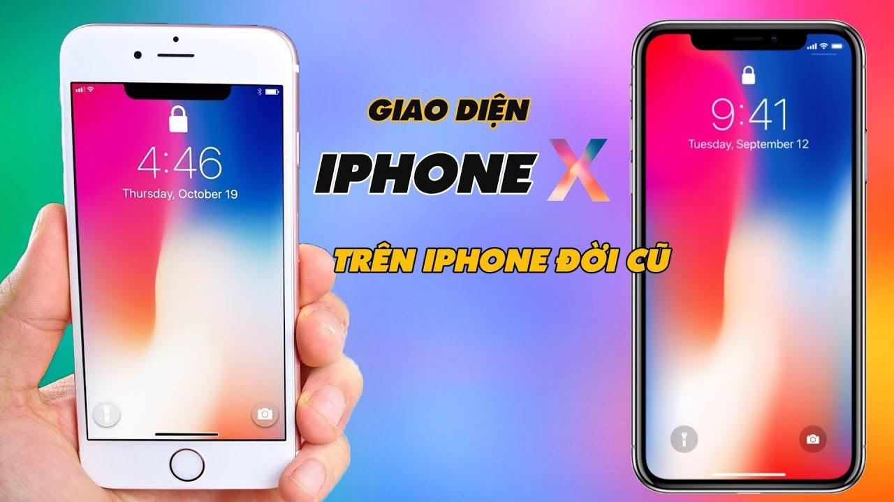 Mang Giao Diện iPhone X Lên Mọi iPhone Đời Cũ Không Cần Jailbreak | Truesmart