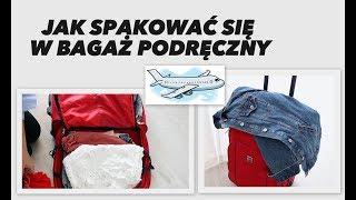 Jak spakować się w bagaż podręczny I loveandgreatshoes