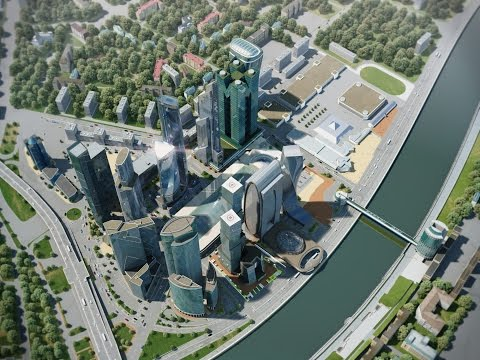 Moscow-City 3D ANIMATION from 3DARCHITECT 2010