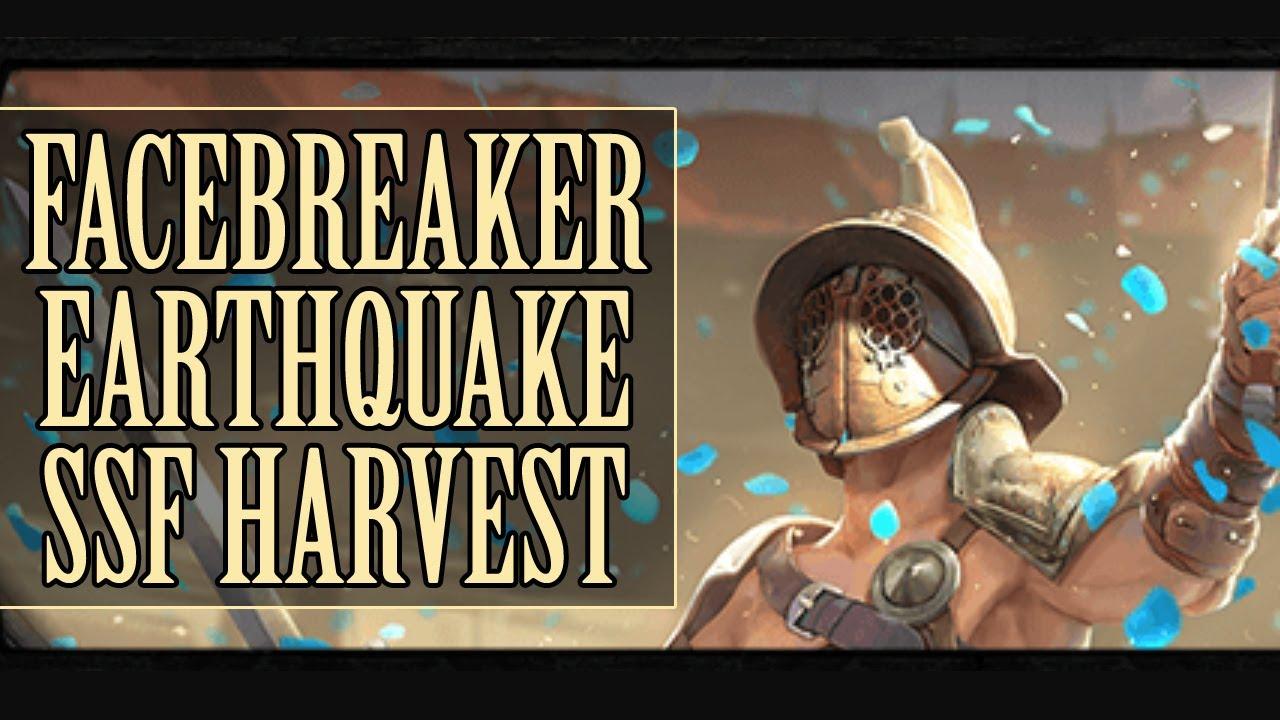 PoE: Harvest - Character Overview - MC SLAM JAM (Facebreaker Earthquake Gladiator)