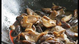 Юлия Высоцкая — Закуска из грибов шиитаке
