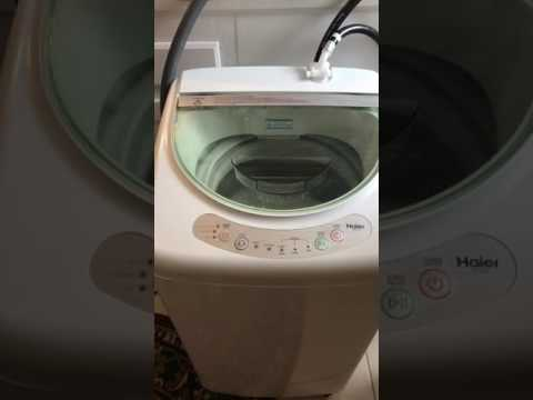 haier hlp21n pulsator 1 cubic foot portable washer spin cycle youtube. Black Bedroom Furniture Sets. Home Design Ideas