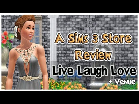 The Sims 3 Store: Live Laugh Love + Venue