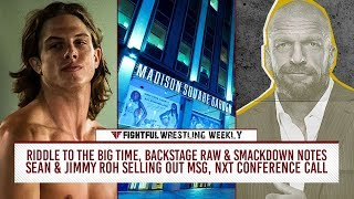 Fightful Wrestling Weekly: Riddle To Big Time, ROH/MSG Sells Out, NXT Conference Call & More