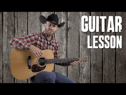 Bluegrass Licks Improvising Guitar Course - Lesson 1 - Easy Bluegrass Flatpicking and Scales