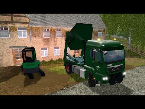 Farming Simulator 17 - Forestry and Farming on The Valley The Old Farm 080 thumbnail