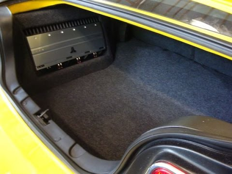 How To Make A Custom Amp Rack For Your Cars Interior Youtube