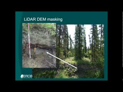 Dr. Steven Pawley: Surficial geology mapping in northern Alberta using LiDAR