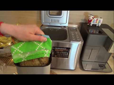 Бездрожжевой домашний хлеб на кефире  в хлебопечке. Хлебопечь редмонд RMB-1920.