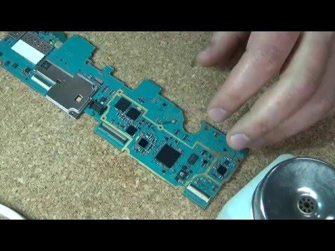 Samsung GALAXY Tab 2 замена микросхемы питания