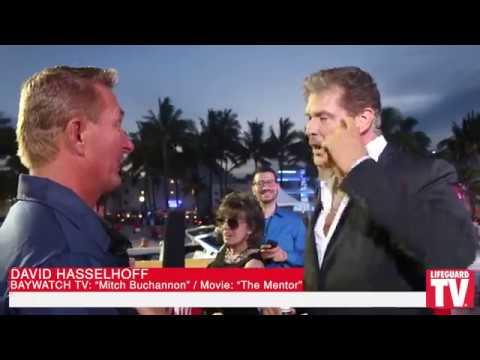 Lifeguard TV® Baywatch Movie Red Carpet Interviews - David Hasselhoff