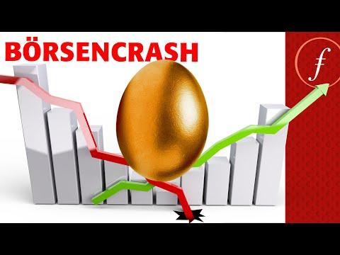 Börsencrash - So entgehst du der Pleite