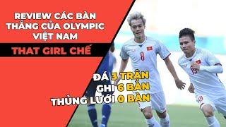Troll music 26: Review các bàn thắng của Olympic Việt Nam | Chế That girl