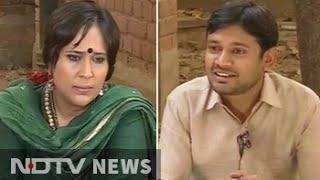 Kanhaiya Kumar to NDTV on taking on Smriti Irani and PM Modi