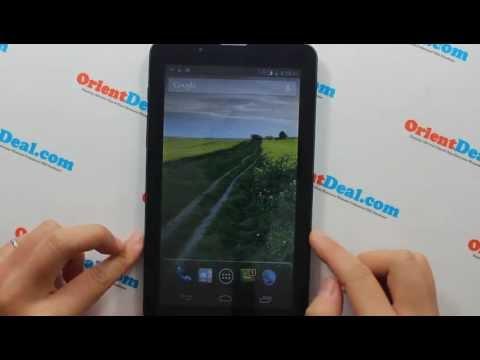 Orient TAB Mini 7 -Phablet - Dual SIM Card + 2G + 3G Mobile Network Phone Calling + GPRS/3G Internet