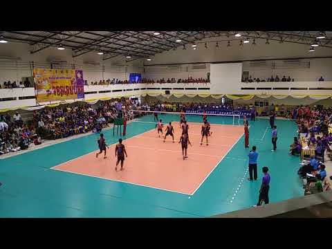Final Thailand Sport School Games 2018 Jakarta Sport School vs Suphanburry Sport School set 1 & 2