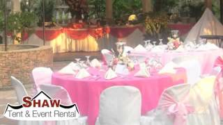 Shaw Event Rental - Your Source For Atlanta Party & Event Rentals