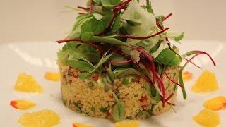 Couscous And Mixed Vegetable Salad With Orange Vinaigrette | Sanjeev Kapoor Khazana