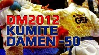 DM KARATE 2012 DKV Kumite Damen -50KG Duygu Bugur vs. Desireé Christiansen
