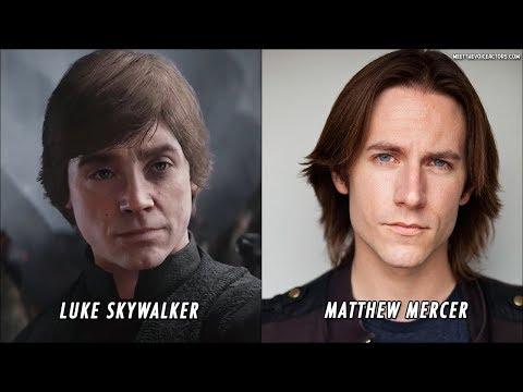 Star Wars Battlefront 2 Characters Voice Actors