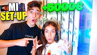 Mi SET-UP en la EPIC HOUSE! +5000€
