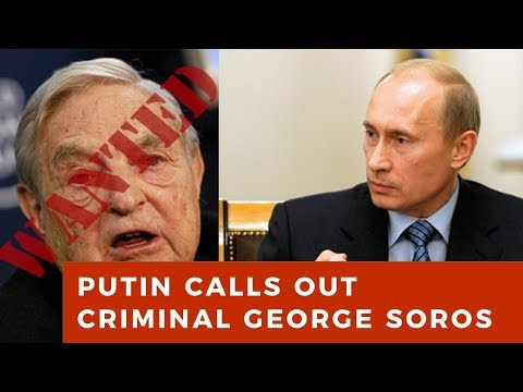 "Vladimir Putin CRUSHES George Soros for all western ""leaders"" to see"