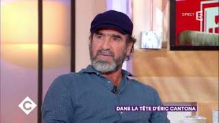 Dans la tête d'Eric Cantona - C à Vous - 13/11/2017