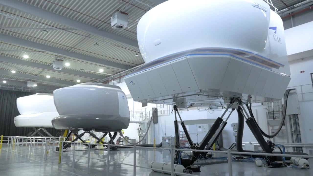 Global 5000/6000 full-flight simulator at CAE London Burgess Hill