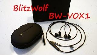 Гибридые наушники Blitzwolf BW-VOX1 - конкурент Xiaomi Hybrid Headphone