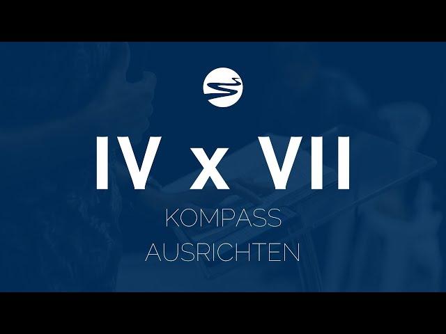 IV x VII - KOMPASS AUSRICHTEN   ELIM KIRCHE GEESTHACHT   HD