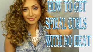 How to get crazy big curly hair (no heat) Thumbnail