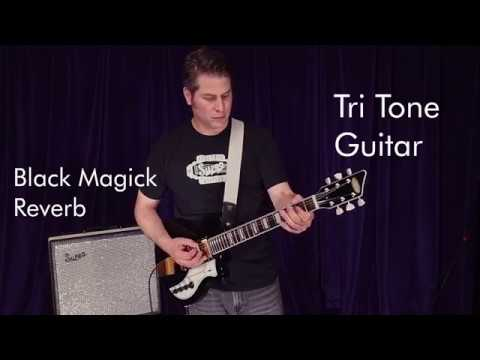 Supro Tri Tone Blues Rave up by David Koltai with Black Magick Reverb amp