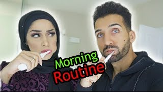 OUR MORNING ROUTINE | Sham & Saher