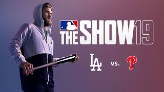 MLB The Show 19: 7/15/2019 - LAD vs. PHI **Game 96**