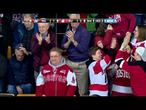 2015-16 BU Hockey Goals: Somerby (5) vs. Northeastern - Beanpot Semifinal