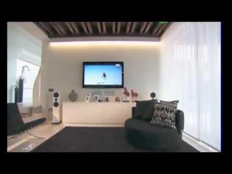 01 casa turini architettura in bianco e nero parte a for Case moderne arredate