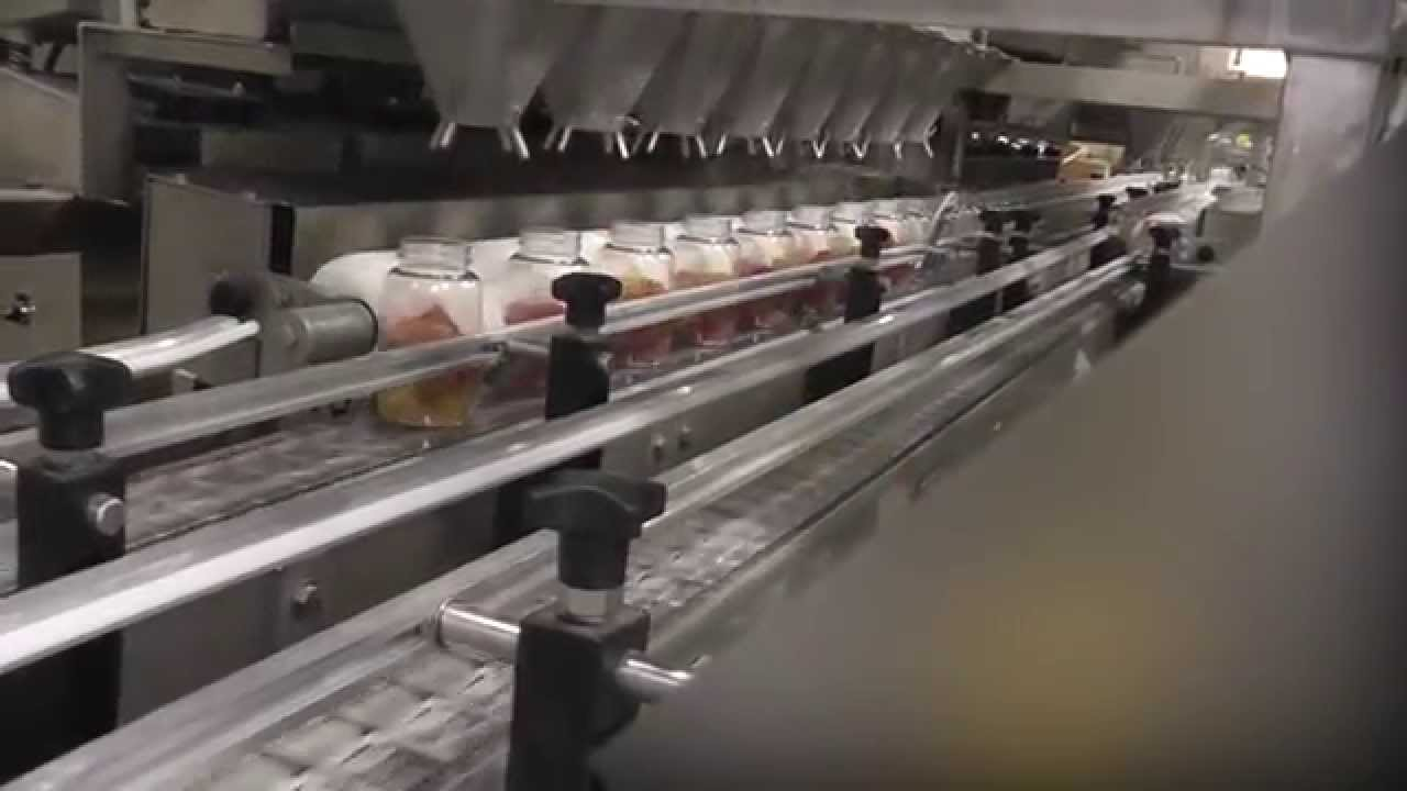 Packaging Equipment Used For Packing Gummy Bears In