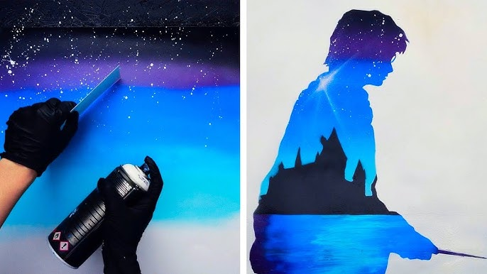 15 Unique And Easy Spray Painting Ideas Youtube