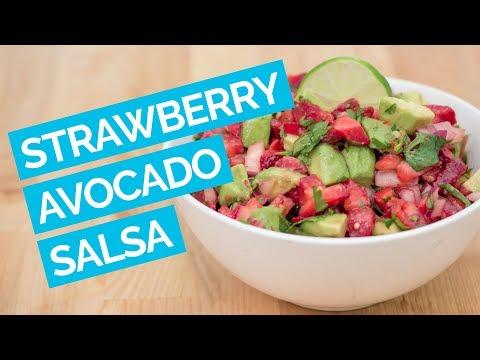 Strawberry Avocado Pico De Gallo (Salsa Recipe)