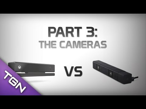 Playstation 4 vs Xbox One : Part 3 - The Cameras