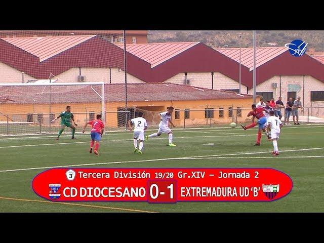 CD Diocesano - Extremadura UD 'B' (3ª División Gr.XIV 19/20)