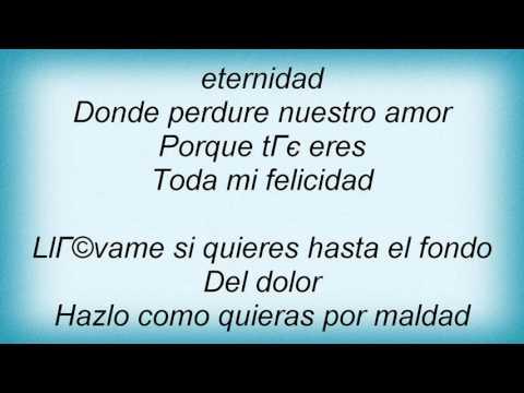 Luis Miguel - Entrega Total Lyrics