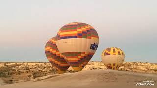 видео Полет на воздушном шаре над Каппадокией