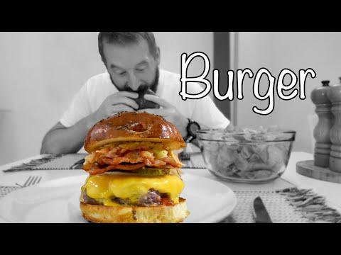 burger-maison-🍔🐄🥓🧀-[recette-facile]-👨🍳🌾👩🍳